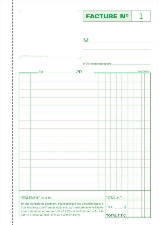 facturiers carnet autocopiant dupli 210 x 148 mm 3278e factures exacompta arc registres. Black Bedroom Furniture Sets. Home Design Ideas
